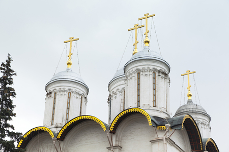 Cathedral of the Twelve Apostles in the Patriarchs house in Moscow,Russia.