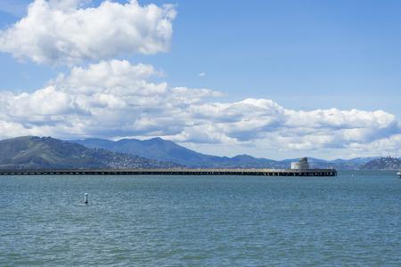 Beautiful nature of Aquatic Cove in San Francisco,CA