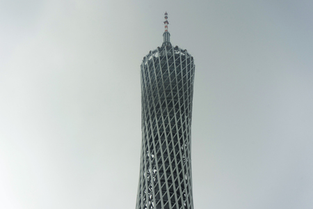 Canton TV tower in the Guangzhou