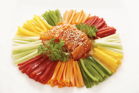 chinese food, cold plate appetizer