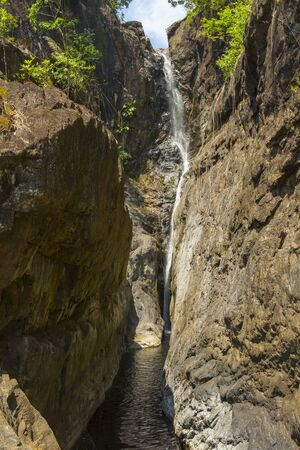 Klong Plu Waterfall on the island of Koh Chang, Thailand.