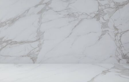 White marbled tile, close up photo on marbled tile surface.