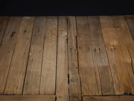 Old planks of wood or grunge wood texture background.