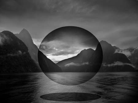 Milford Sound abstract