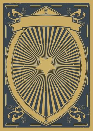 prospectus: Illustration of a grunge design poster background banner for your advertisement Illustration