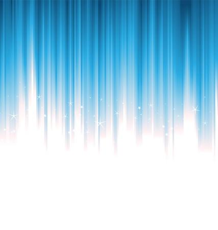 Illustratie van blauwe verticale helder en glanzend liferays