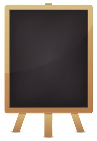 customized: Illustration of a blank classroom blackboard for education advertisement. Make your own Customized message Illustration