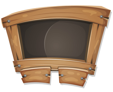 pedagogics: Illustration of a cartoon design school education blackboard with buttons and interface elements