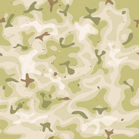 camo: Illustration of a grunge and seamless military camouflage with green and brown shades for army background and camo fight clothes wallpapers