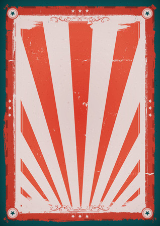 sunbeams: Illustration of a design american retro independence day holidays poster background, for american anniversary events, red and blue with sunbeams Illustration