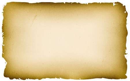 Illustration of an old vintage pirate or medieval used parchment, for treasure map, holidays announcement or game ui background on tablet pc Vettoriali