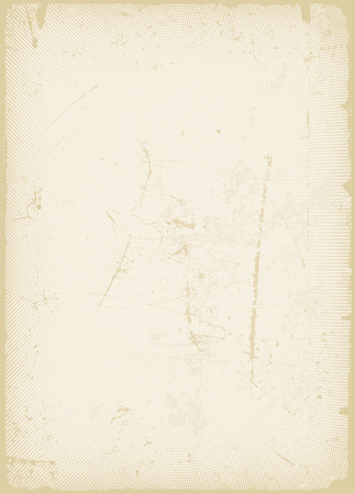 rawness: Illustration of a vintage old paper background, with scratched and grunge effects