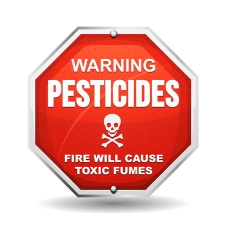 Illustration of a warning sign Illustration