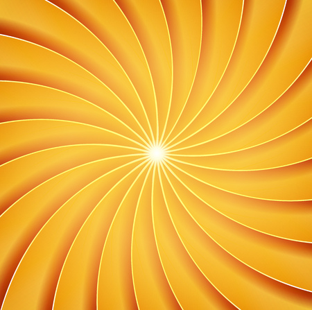 Illustration of an abstract design spiraling background