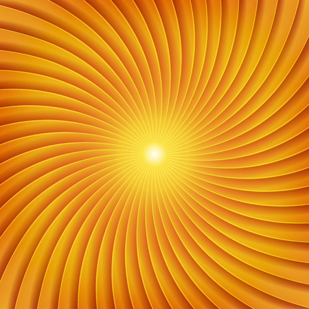 Illustration of an abstract design background with spiral patterns