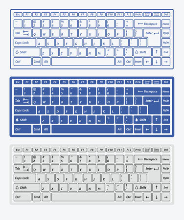 keyboard keys: Computer keyboards for using in app