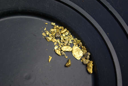 California Gold Nuggets Stock Photo - 2623628