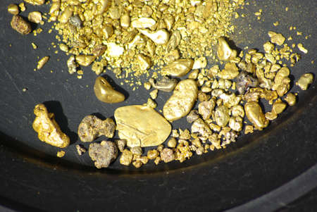 mining gold: California Gold Nuggets