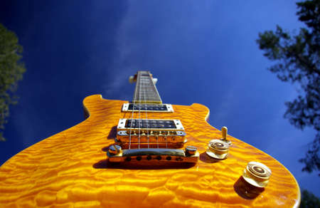 amplified: Pillow Maple Guitar