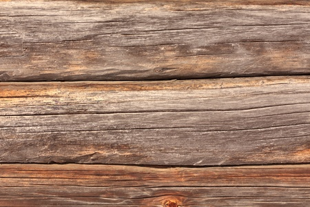 the texture of the planks of old wood brown photo