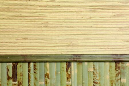 homogeneous: Sample of homogeneous texture of green wood bamboo  wallpaper