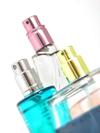 perfume isolated on white background