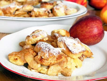 slits: Czech speciality - apple pie