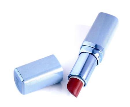 lovemaking: lipstick isolated on white background