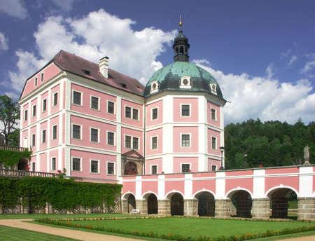 nad': Czech republic - castle Becov nad Teplou Stock Photo
