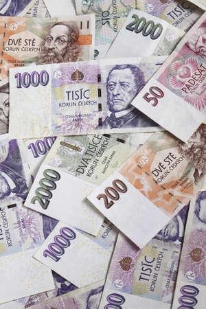 Czech money for white background Stock Photo - 4553546