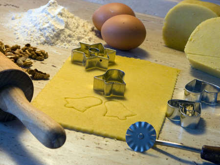 Christmas - still life in cuisine - bake sweets photo