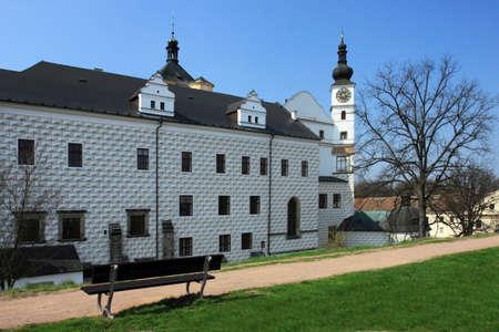 Czech Republic - Renaissance castle in town Pardubice