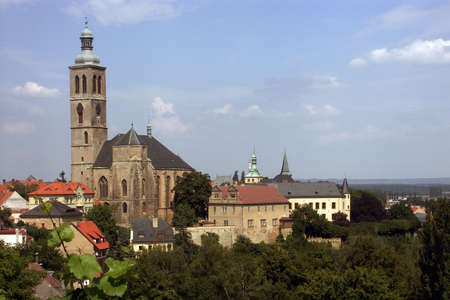Czech Republic - church St.Barbora in city Kutna hora photo