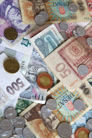 Czech old money Stock Photo - 9146608