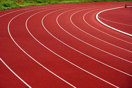 athletic track Stock Photo - 14209653