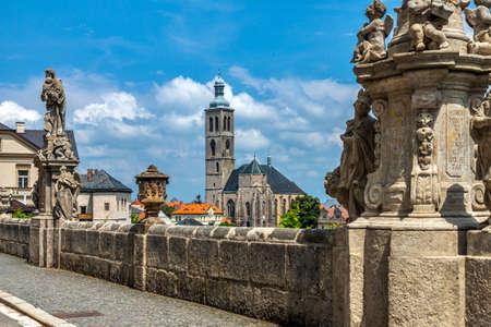 Czech Republic -  City Kutna Hora - Church St Jakuba  James, Jacob Stock Photo - 23164702