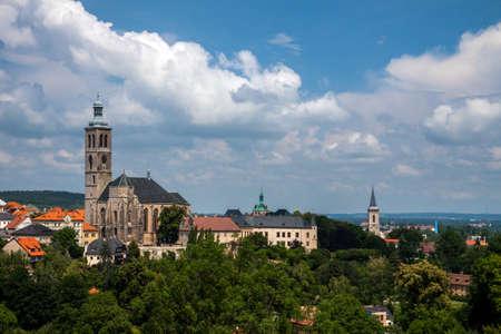 Czech Republic -  City Kutna Hora - Church St.Jakuba (James, Jacob) Stock Photo - 23164730