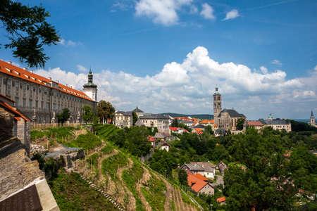 jacob: Czech Republic -  City Kutna Hora - Church St.Jakuba (James, Jacob) Stock Photo