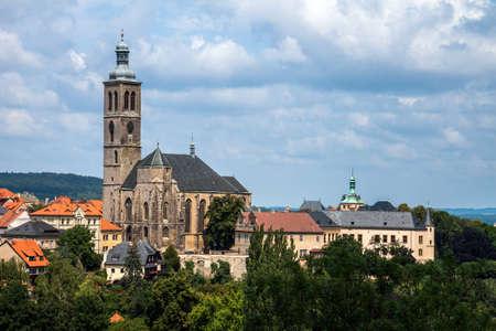 Czech Republic -  UNESCO City Kutna Hora - Church St.Jakuba (James, Jacob) Stock Photo - 23164756