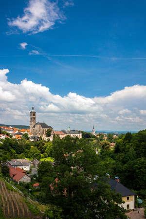 Czech Republic -  UNESCO City Kutna Hora - Church St.Jakuba (James, Jacob) Stock Photo - 23164757