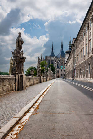 Czech Republic -  UNESCO City Kutna Hora - Cathedral St.Barbora photo