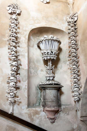 Czech Republic -  City Kutna Hora - Church Sedlec - Ossuary photo