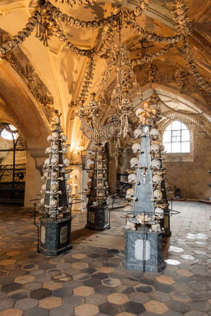 Tsjechië - UNESCO City Kutna Hora - Kerk Sedlec - ossuarium