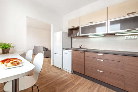 Interior photo shoot in a modern apartment. High quality photo