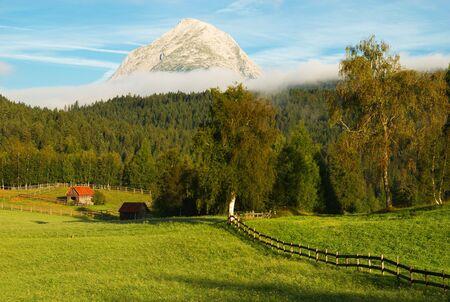 Hohe Munde, Seefeld, Austria Stock Photo