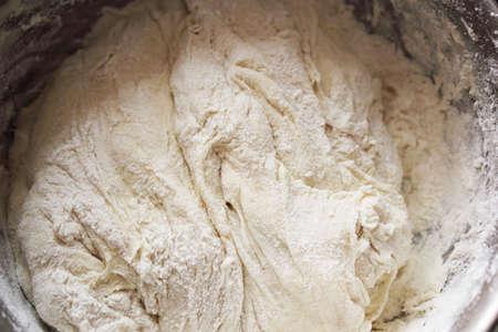 macro texture test in a saucepan Stock Photo - 13990357