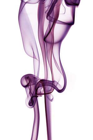 Purple Smoke Banco de Imagens