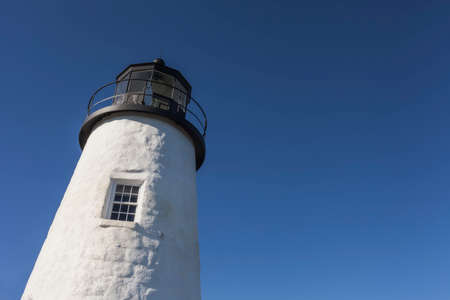 lighthouse in the blue sky