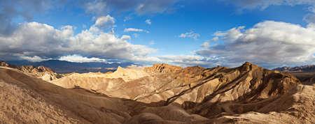 zabriskie point death valley national park Stock Photo