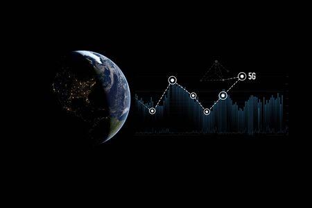 5G concept illustration